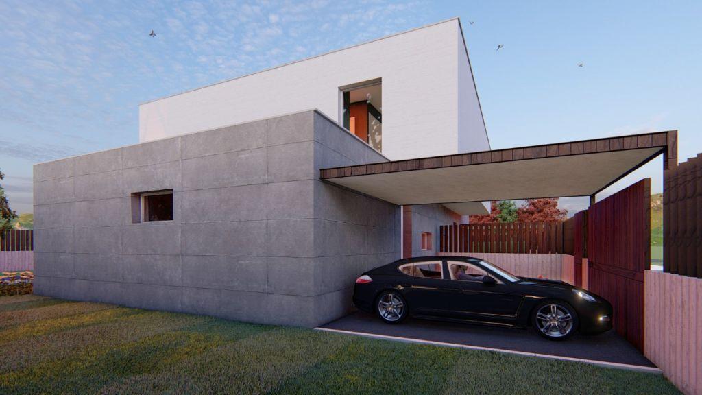 Vivienda modular pareada en el Concello de Tui