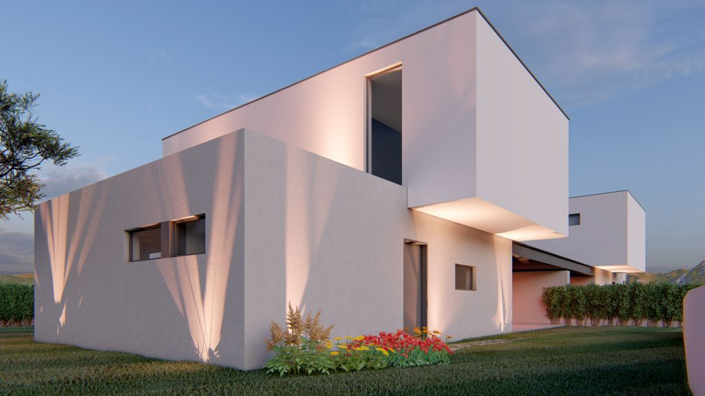 Vivienda modular pareada en el Concello de Baiona